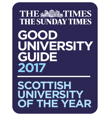 Sunday Times Good University Guide 2017 - Scottish University of the Year